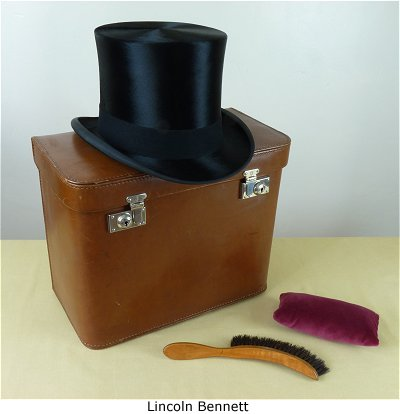 The Top Hat Shop Fine Vintage Top Hat Boxes In First